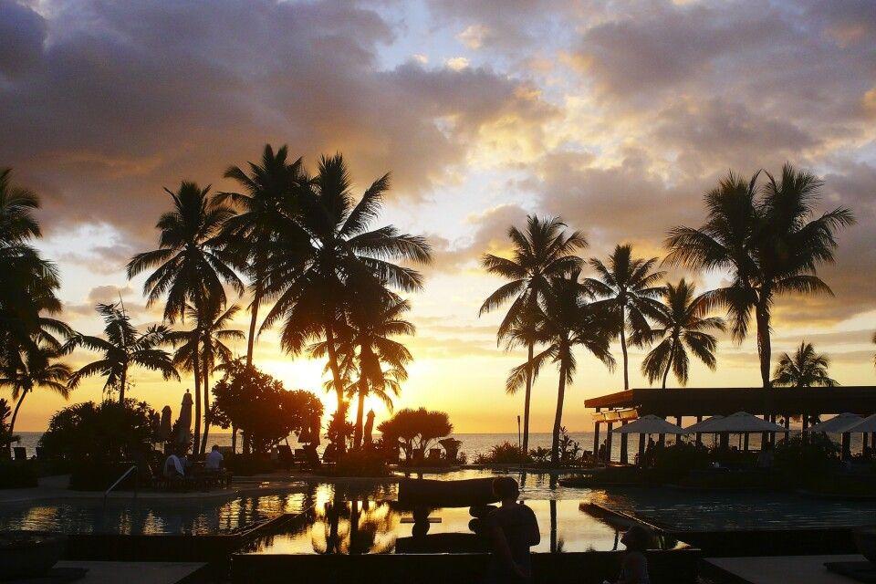 Sonnenuntergang Port Denarau