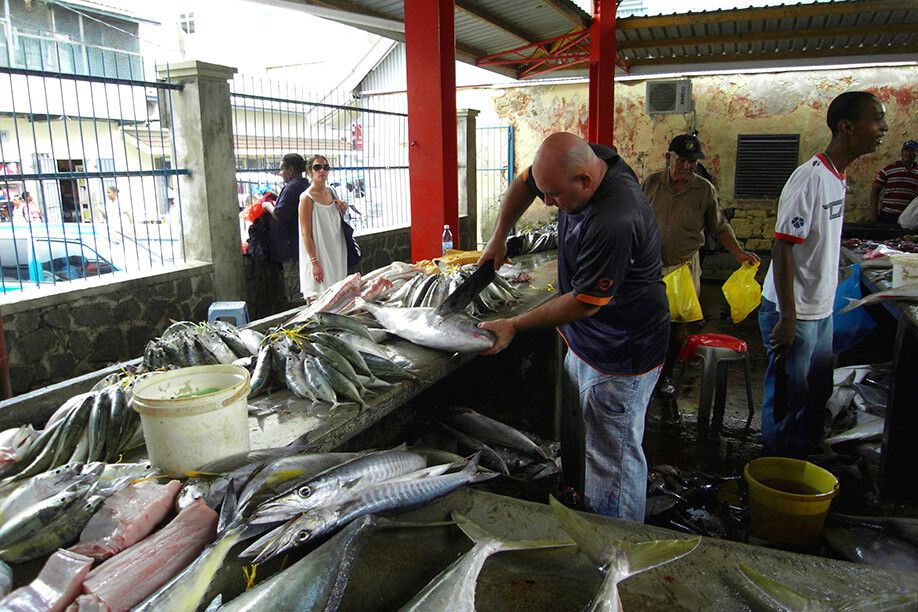 Victoria Market Mahe