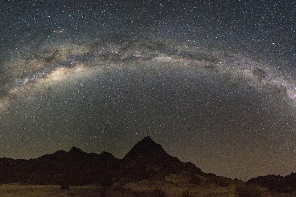 Einzigartiger Sternenhimmel in Nord-Namibia