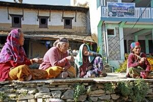 Frauen in Ghandruk