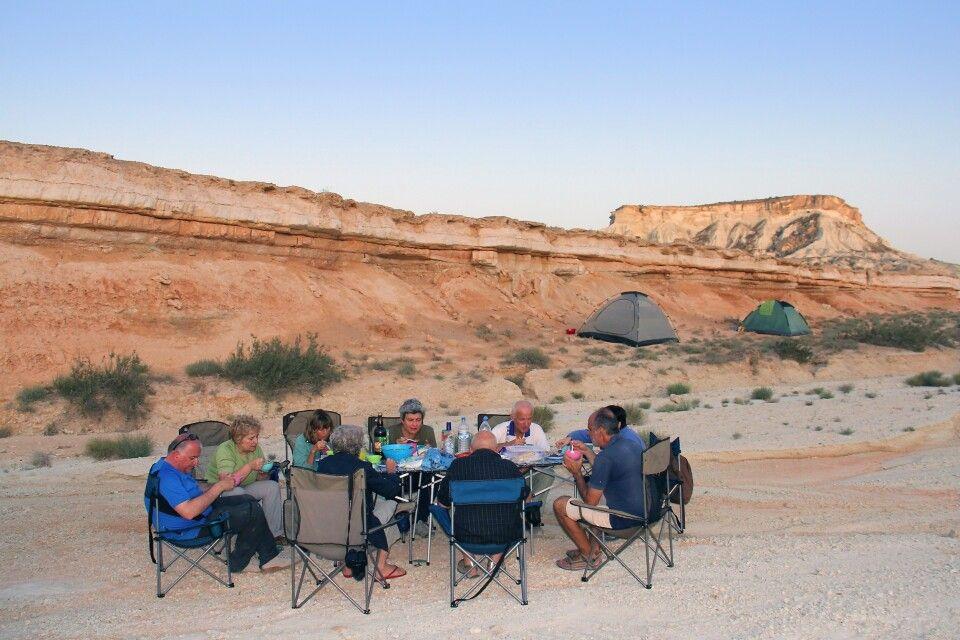 Campingplatz im Gebiet Yangisuw