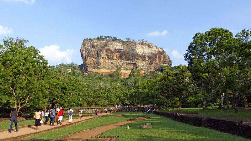 Lions Rock, Sigiriya © Diamir