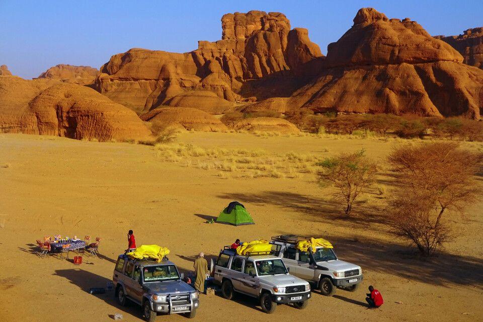 Camp im Ennedi