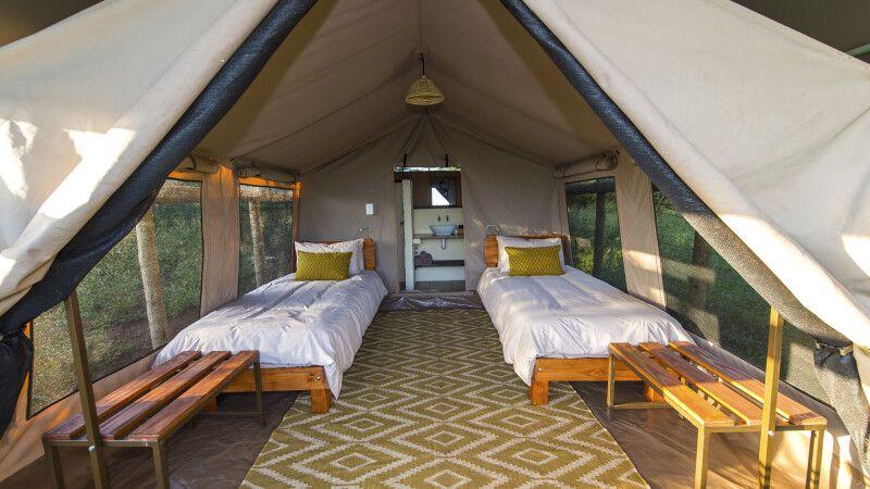 Zimmerbeispiel von der Zululand Lodge © Diamir