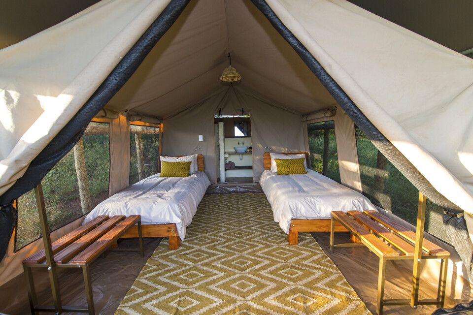 Zimmerbeispiel der Zululand Lodge
