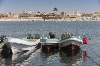 Am Hafen von Mirbat