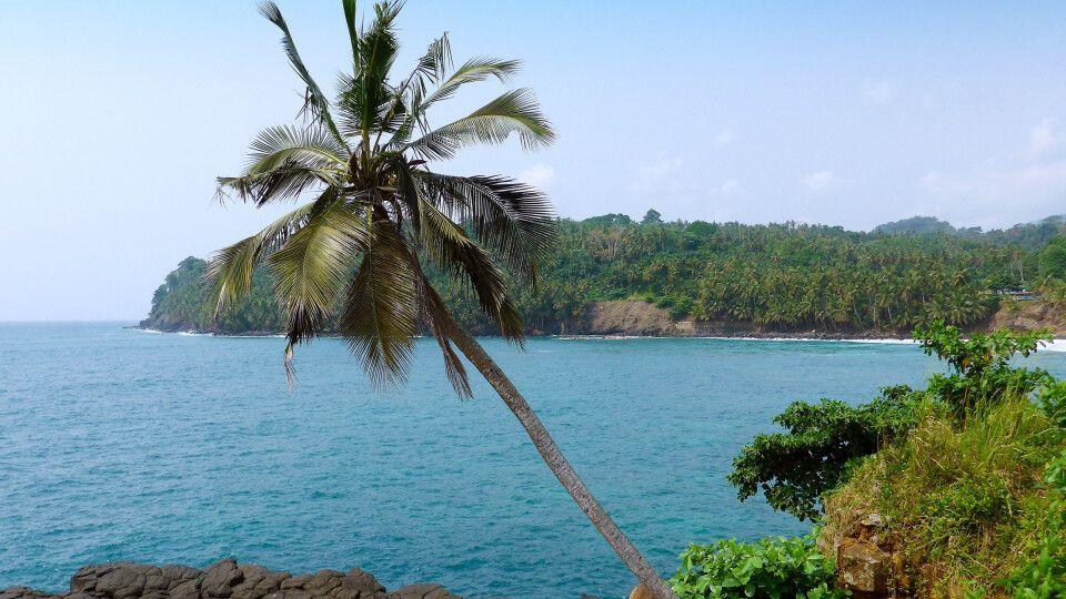 Küstenlandschaft auf Sao Tome und Principe
