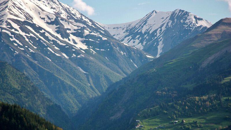 Bergdörfer in Tuschetien © Diamir