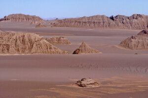 Wüste Lut – die Kaluts – Steinformationen