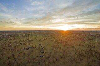 Serengeti View Camp von oben