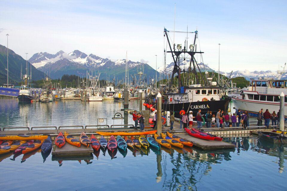 Im Hafen von Valdez
