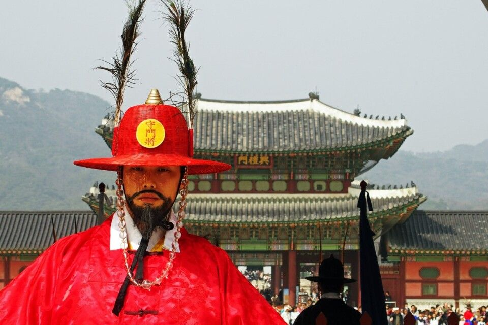Seoul Königspalast
