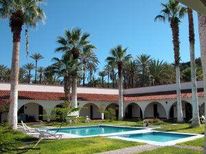 Hotel Desert Inn in San Ignacio, Baja California