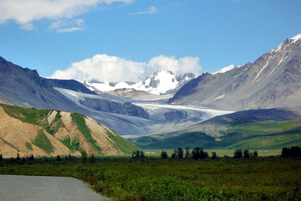 Gletscher am Richardson Highway