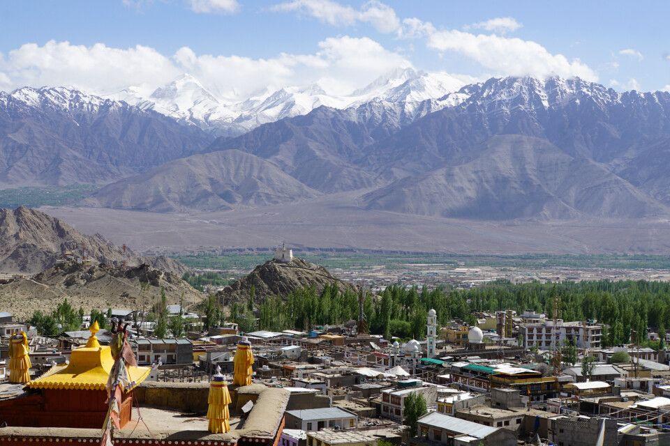 Leh - Ladakhs Haupstadt und Touristenzentrum