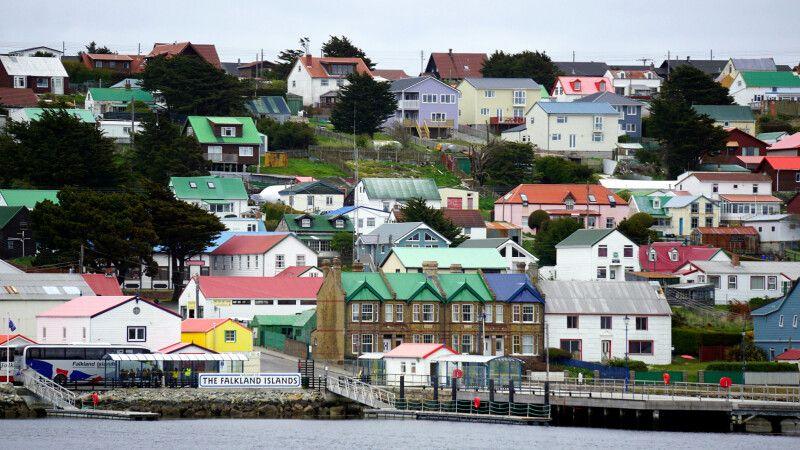 Die Hauptstadt der Falklands: Stanley © Diamir