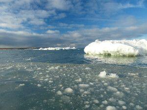 Traumwetter in der Arktis