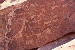 Felsmalereien in Twyfelfontein