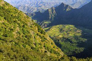 Gebirgslandschaft in den Semien-Bergen