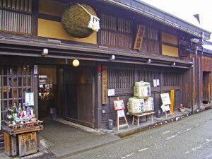 Sakebrauerei in Takayama