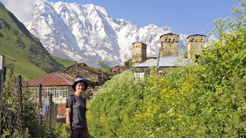 Reiseleiterin Lia aus Georgien © Diamir