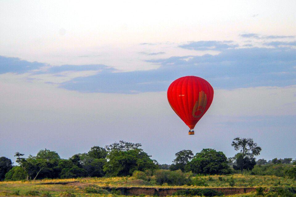 Ballonfahrt in der Mara