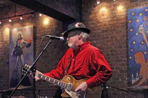 Konzert während der Blues Challenge, Memphis, Tennessee