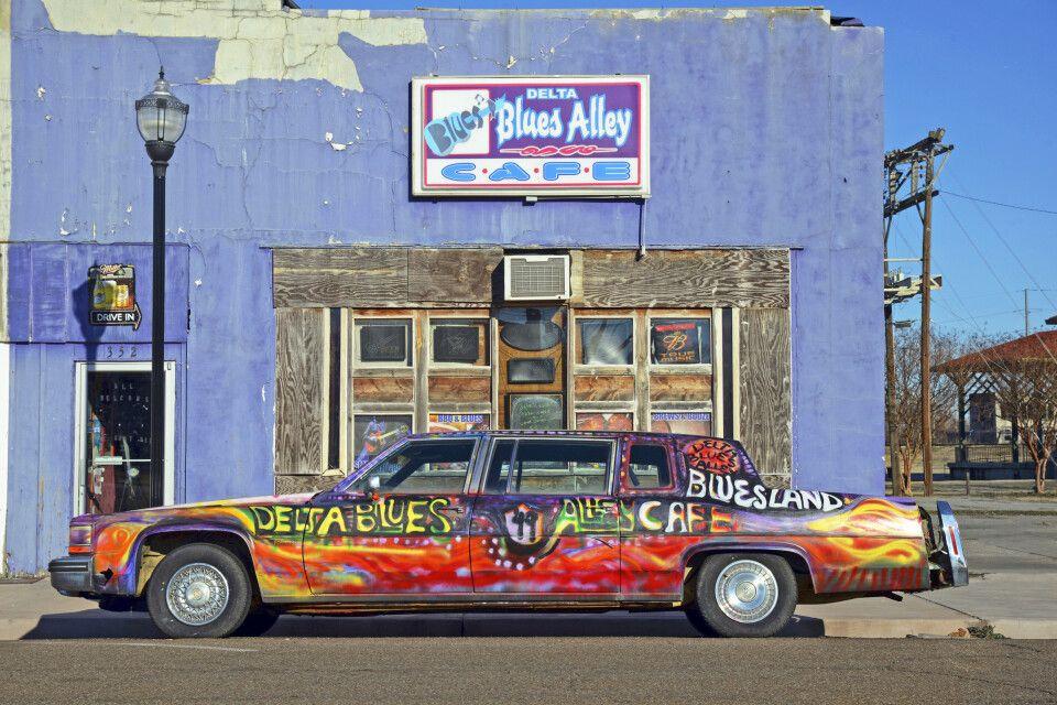 Delta Blues Alley Cafe, Clarksdale, Mississippi