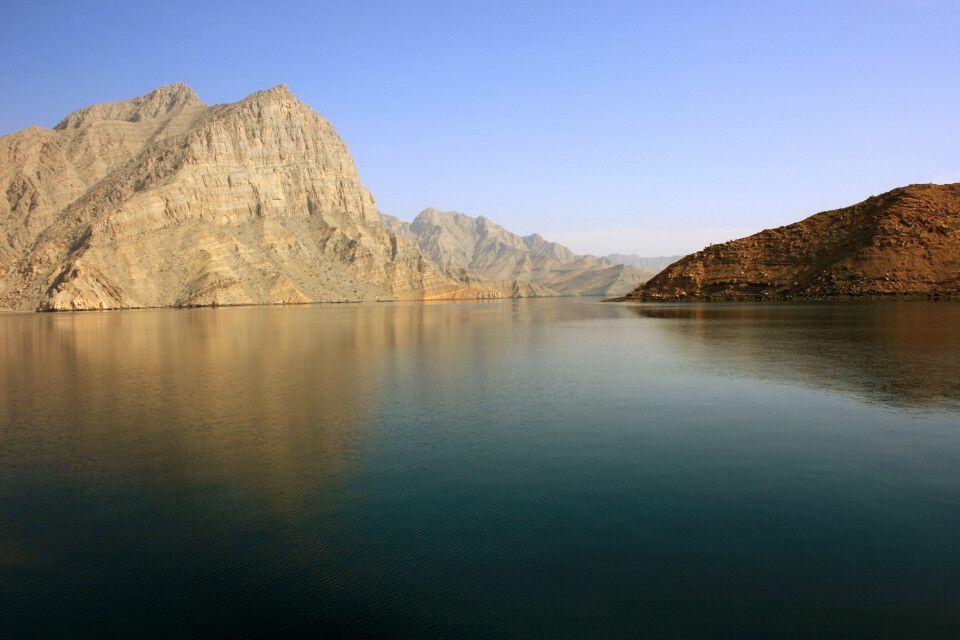Fjordlandschaft bei Musandam