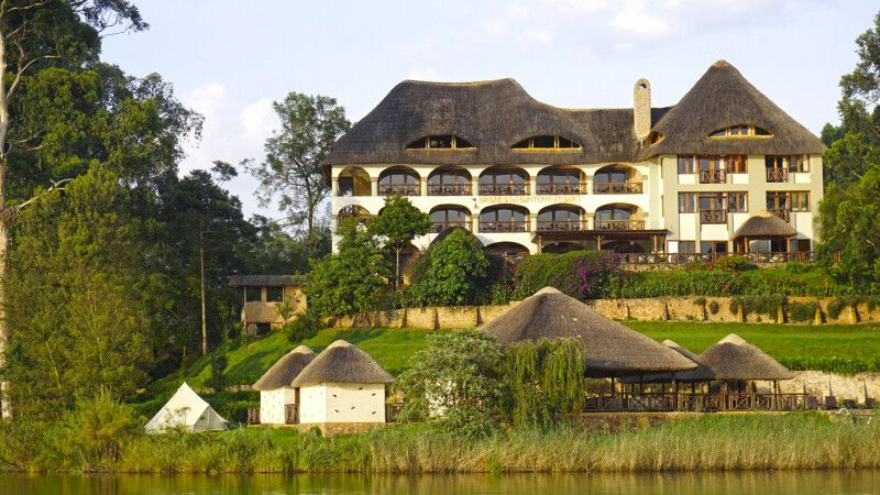 Birdnest @ Lake Bunyonyi Resort © Diamir