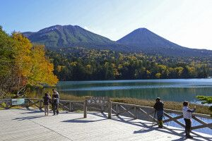 Akan-Nationalpark in Hokkaido