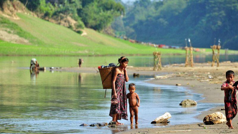 Indigene Dörfer bei Bandarban © Diamir