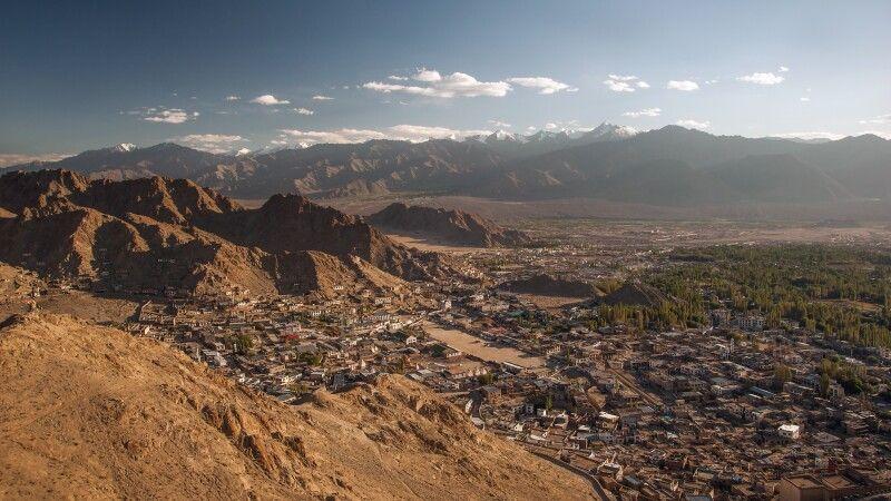Die Stadt Leh ist das Zentrum Ladakhs. © Diamir
