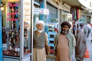 Verkäufer in Teheran