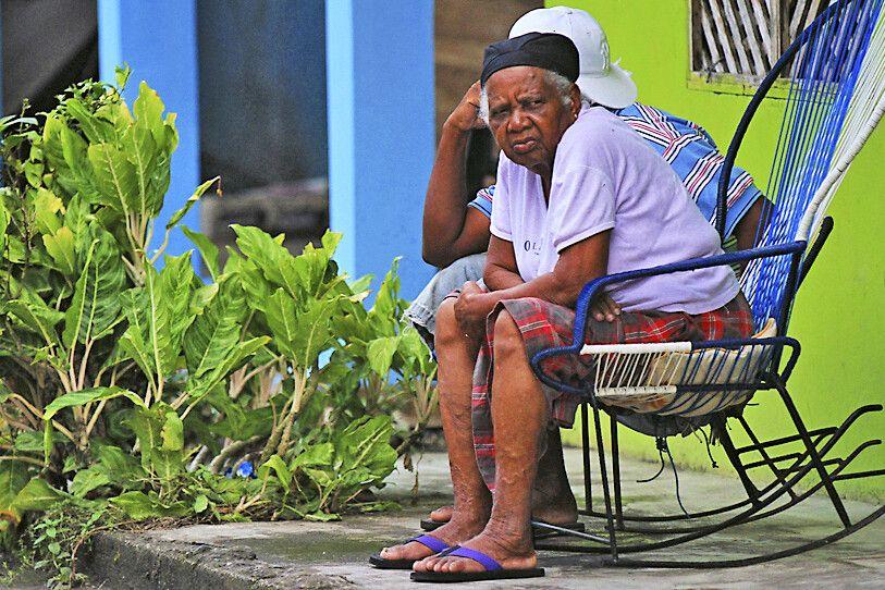 Einwohner im Nationalpark Tortuguero
