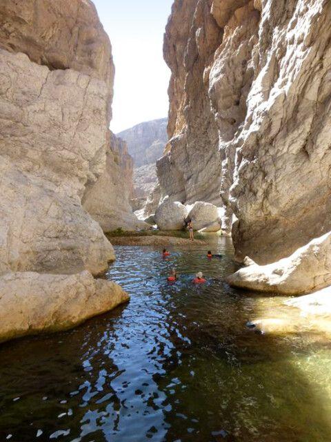 Wadi Bani Flusstrekking
