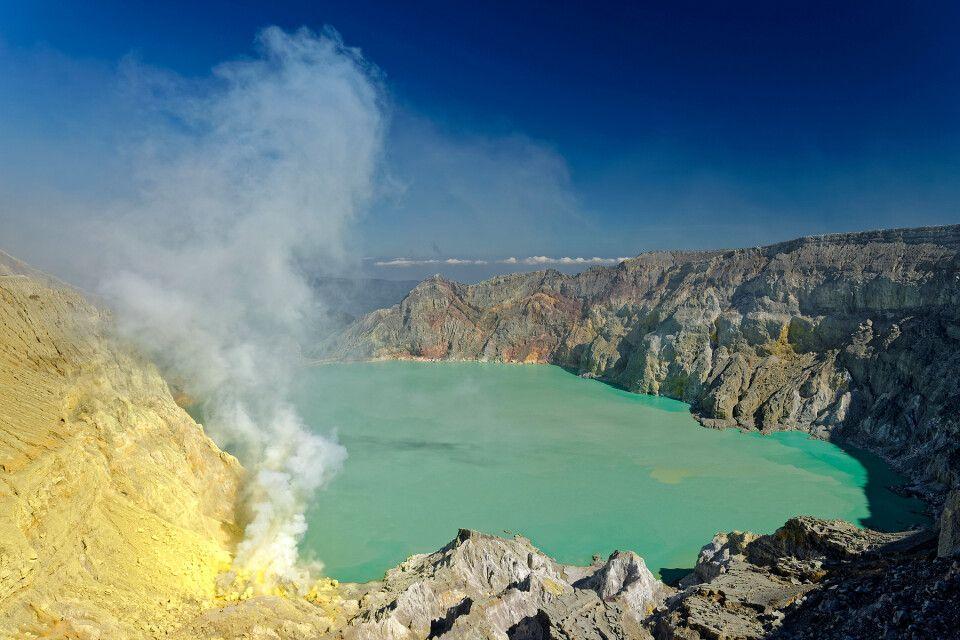 Kratersee Kawah Ijen