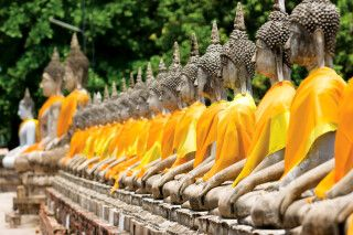 Yai Chai Mongkhon Tempel, Ayutthaya
