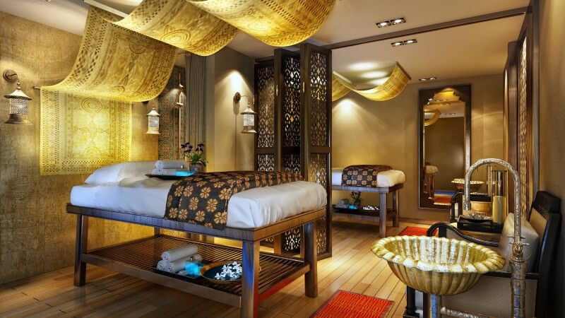 "Spa der Sanctuary Retreats ""Ananda"" © Diamir"