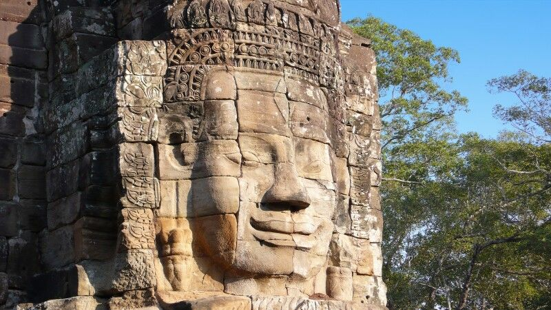 am Bayon in Angkor © Diamir