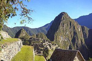 Msystische Inka-Stadt Machu Picchu