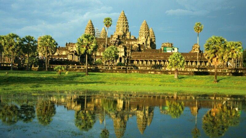 Blick auf Angkor Wat © Diamir