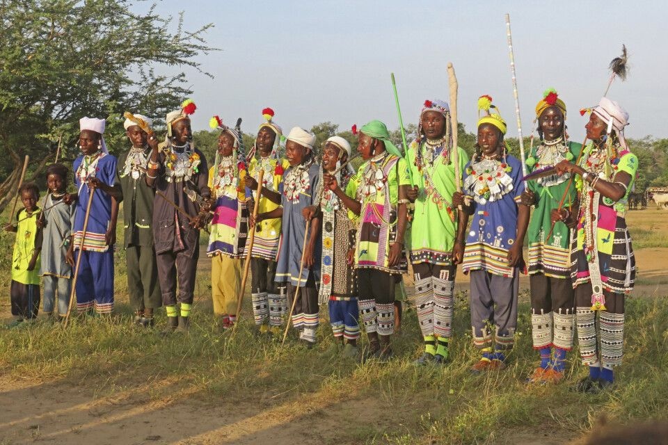 Tradition Gerewol-Festival im Tschad
