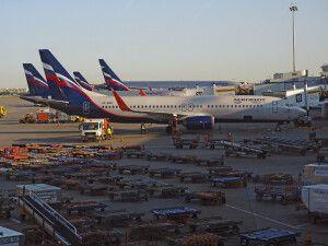 Mit Aeroflot nach Murmansk