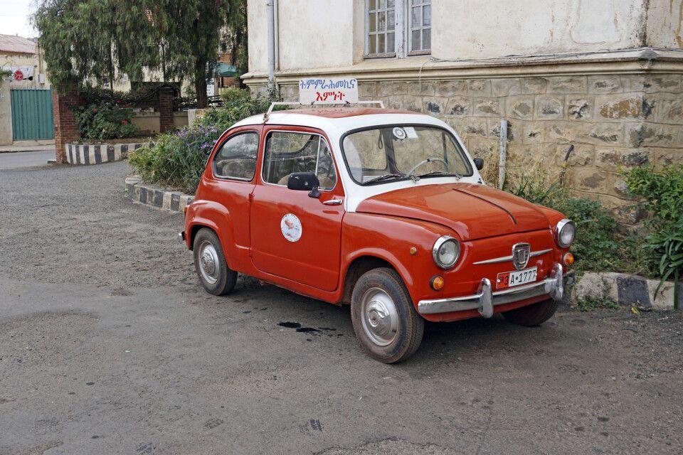 FIAT 500 in Asmara