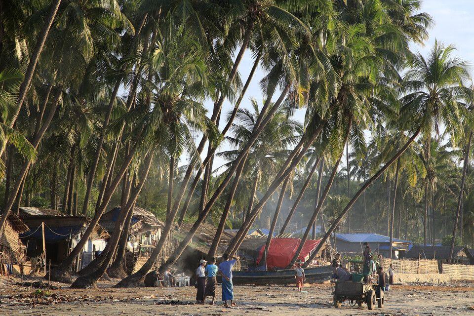 Napali:  Am Morgen in Jadetaw
