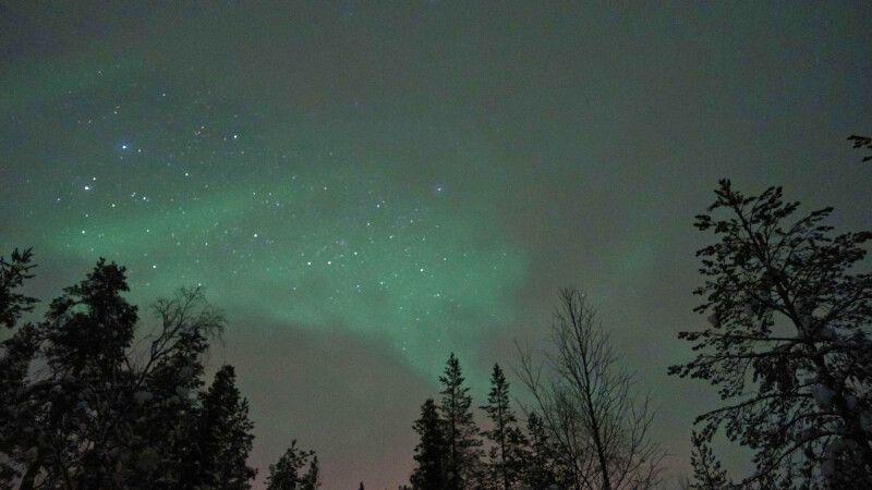Mystischer Nordlichtschleier © Diamir