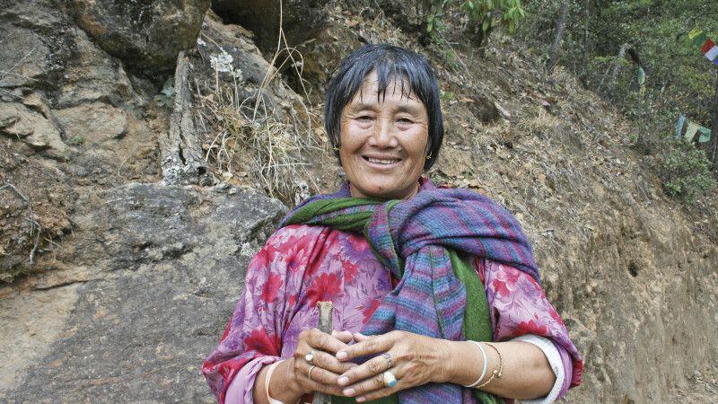 bhutanische Pilgerin © Diamir