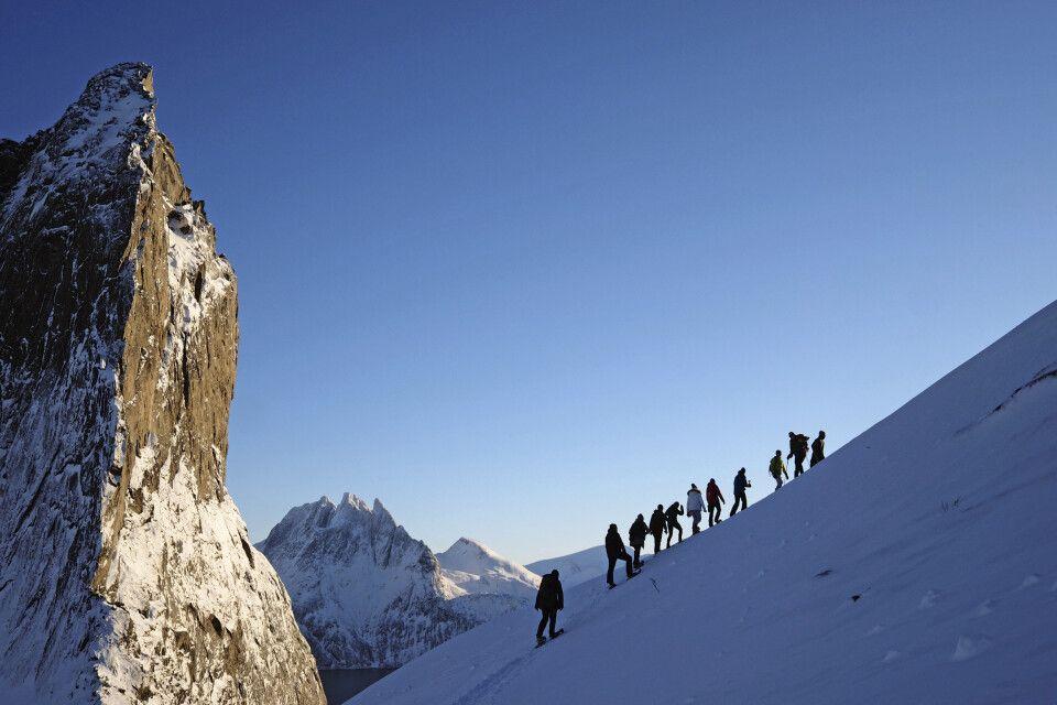 Schneeschuhwanderung bei perfektem Winterwetter