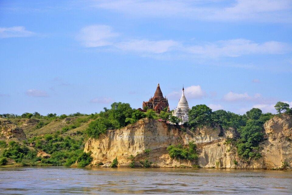 Blick auf Mandalay